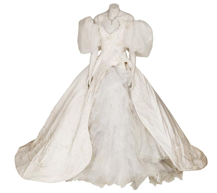 Giselle's Wedding Dress Enchanted