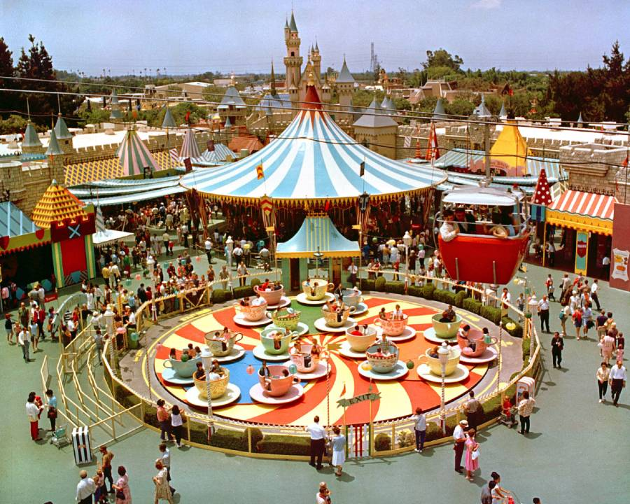Newly discovered Disneyland home video shows park in first year of operation   The Disney Blog