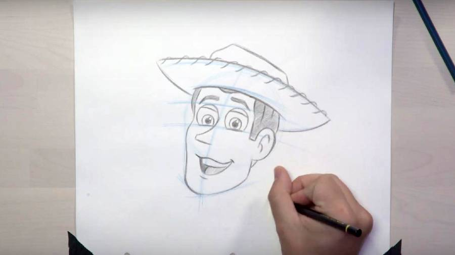 How to draw Woody from Pixar's Toy Story films | The Disney Blog