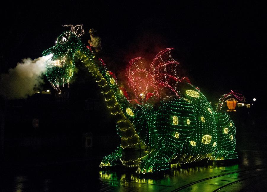 Pete's Dragon Main Street Electrical parade