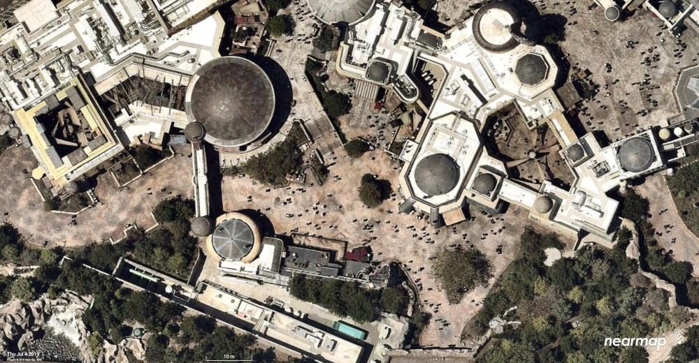 New aerial photos of Star Wars: Galaxy's Edge at Disneyland | The Disney Blog