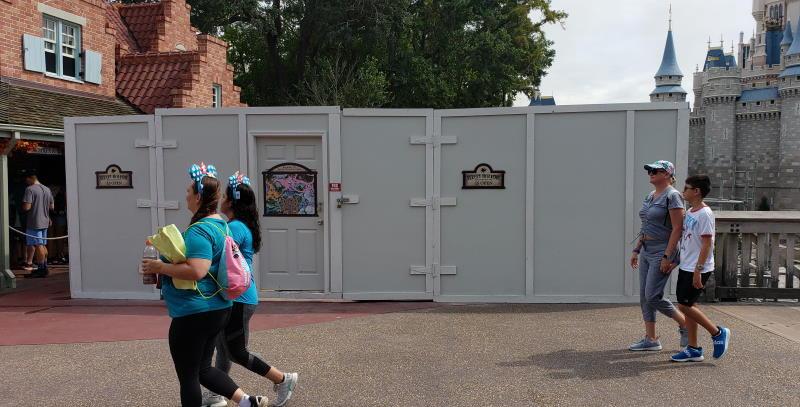 Magic Kingdom - Cinderella Castle path