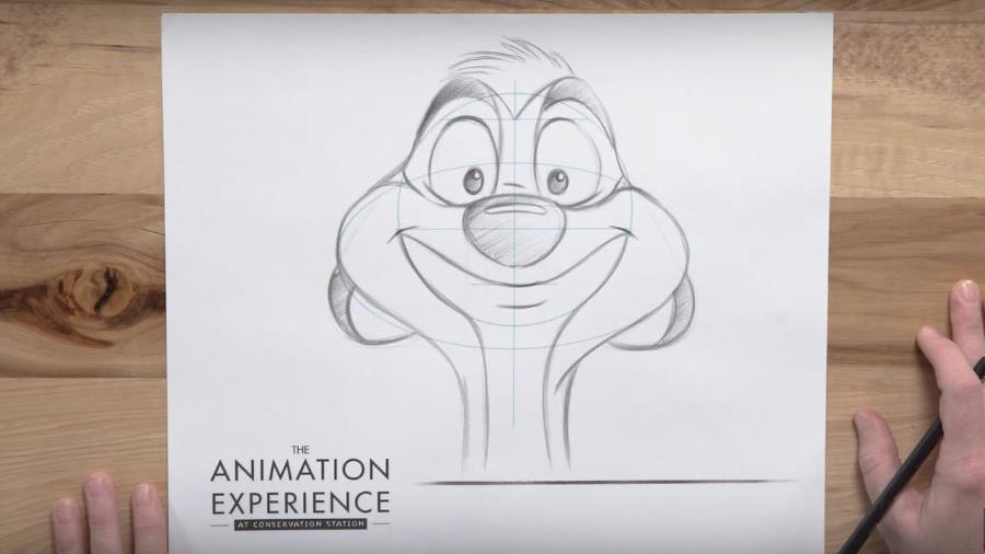 How to draw Timon from Disney's animated classic 'The Lion King' | The Disney Blog