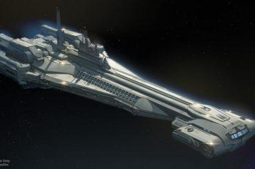 Star Wars Hotel StarCruiser Concept Art
