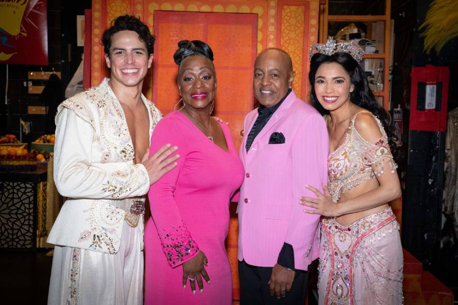 Aladdin on Broadway with Peabo Bryson and Regina Belle