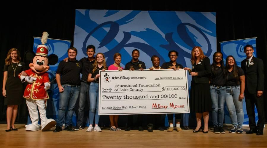 Walt Disney World helps restore local high school band after devastating fire | The Disney Blog