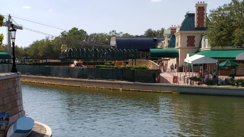 EPCOT France Pavilion Expansion Update - September 2019 | The Disney Blog