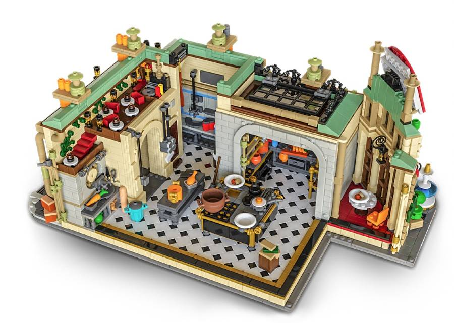 Help make this LEGO model of Gusteau's restaurant from Pixar's Ratatouille a real kit | The Disney Blog