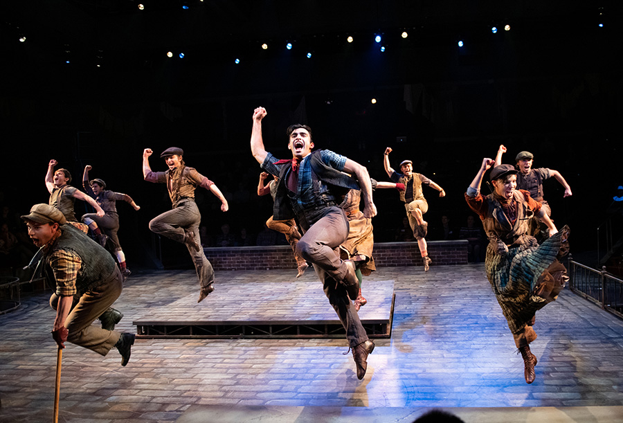 Disney's Newsies on Arena Stage