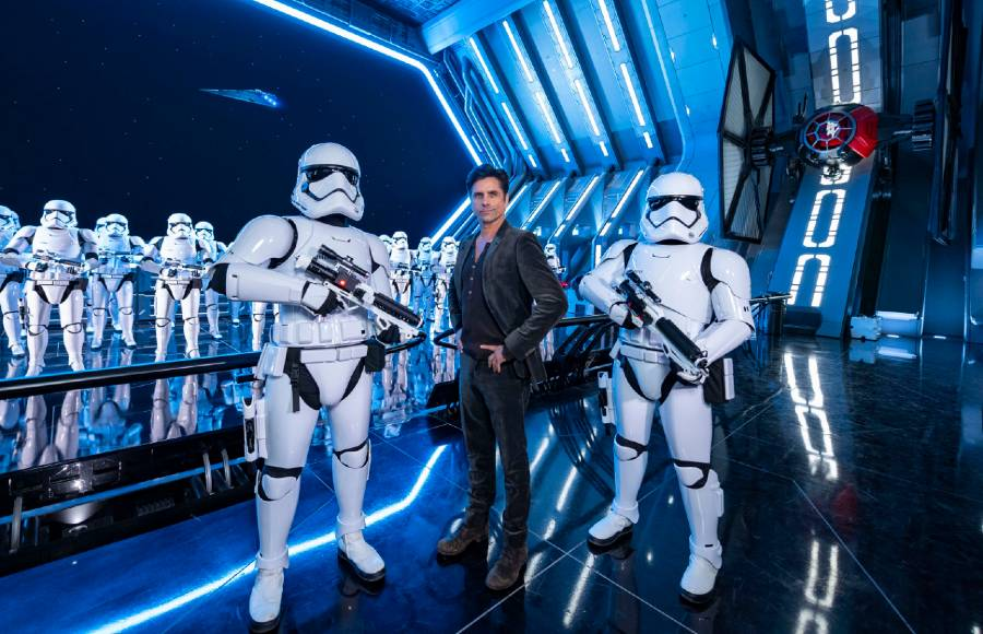 John Stamos on Rise of the Resistance