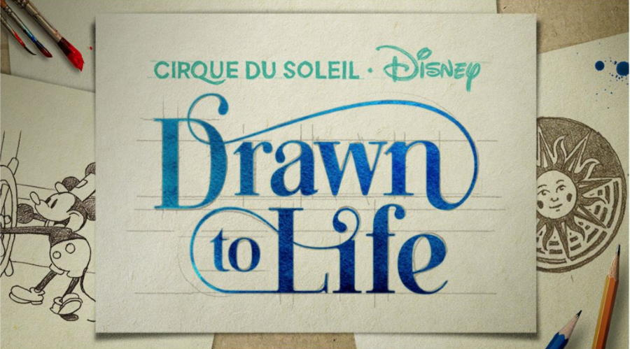 """New Behind-The-Scenes footage from Cirque Du Soleil's """"Drawn to Life"""" 