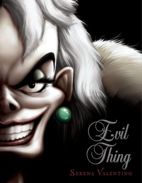 Dust jacket cover reveal of 'Evil Thing'