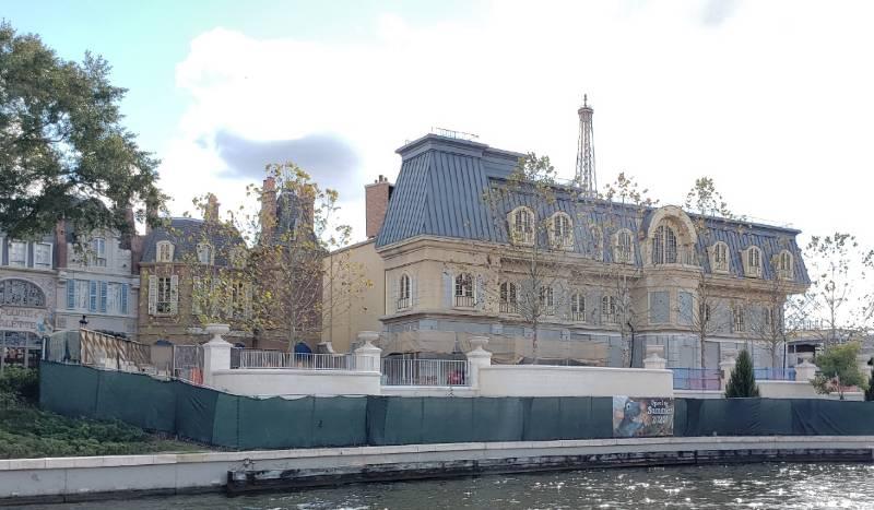 Remy's Ratatouille Adventure - latest construction update | The Disney Blog
