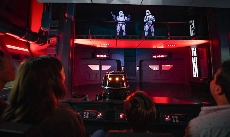 Exclusive Star Wars: Rise of the Resistance On-Ride Video | The Disney Blog