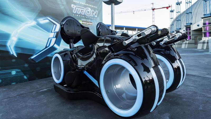 TRON Lightcycle/Run roller coaster construction update | The Disney Blog