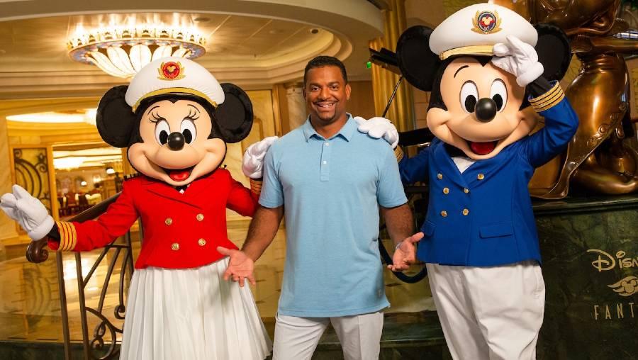 alfonso Ribeiro Disney Cruise