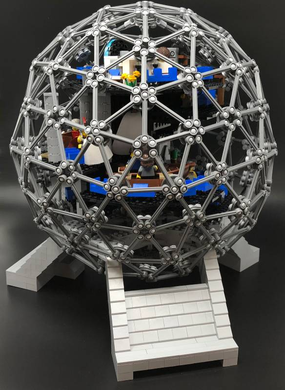 LEGO Spaceship Earth model needs your help to become a real kit | The Disney Blog