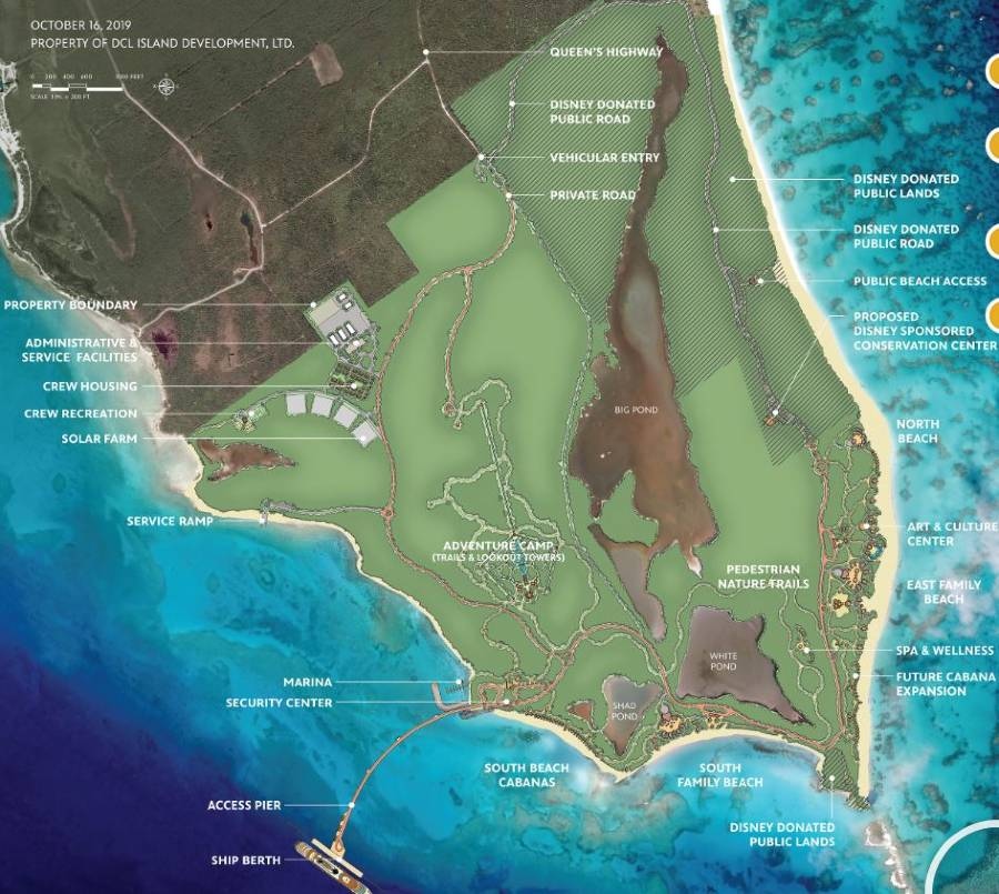 More details revealed for Lighthouse Point, Disney Cruise Line's new private destination in the Bahamas