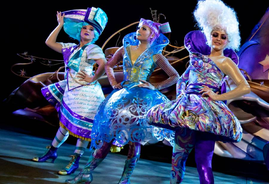 """Disneyland's new parade """"Magic Happens"""" draws inspiration from high fashion for its costumes   The Disney Blog"""
