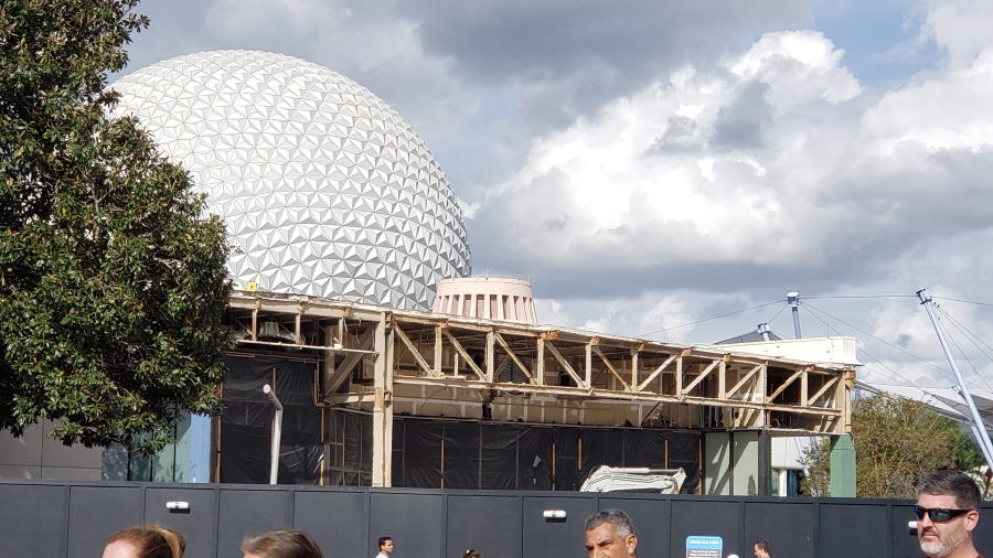 EPCOT Transformation - New routes into the park established | The Disney Blog
