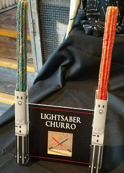 Star Wars Lightsaber Churro