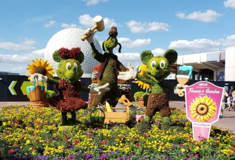 epcot 2020 flower and garden topiary