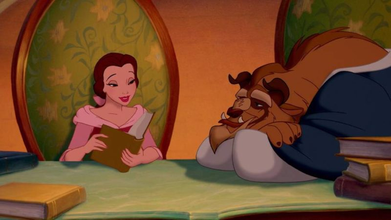 Belle and Beast reading