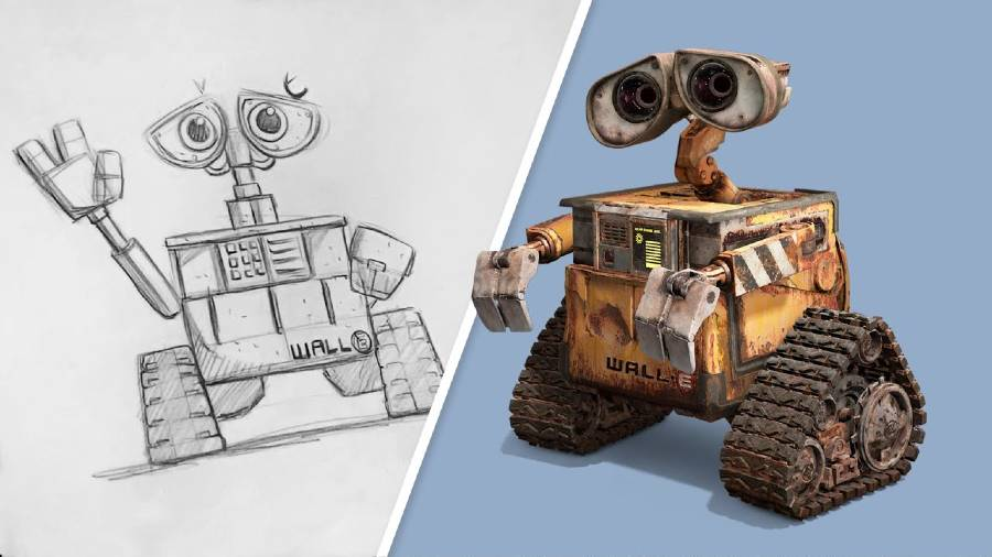 Learn to Draw Pixar's WALL-E at home | The Disney Blog