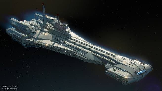 Concept Art: Galactic Starcruiser Halcyon - a new Star Wars resort