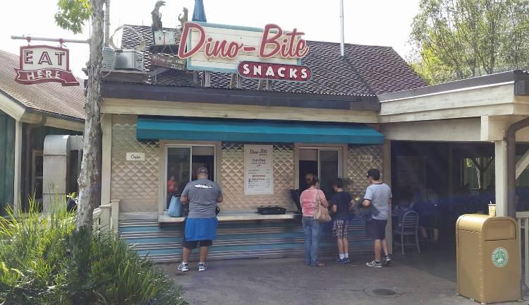 Dino-Bite Snacks in DinoLand USA