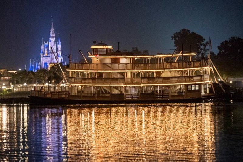 The Liberty Belle sternwheeler in the Magic Kingdom