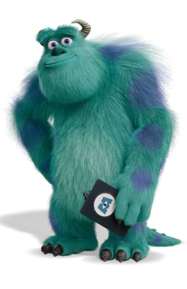 Sulley, voiced by John Goodman