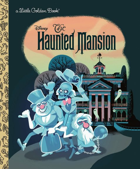 Haunted Mansion little golden book cover