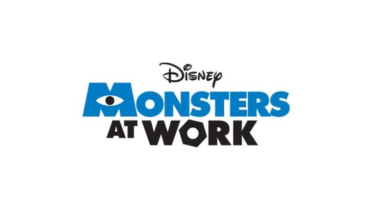 Monsters at Work logo