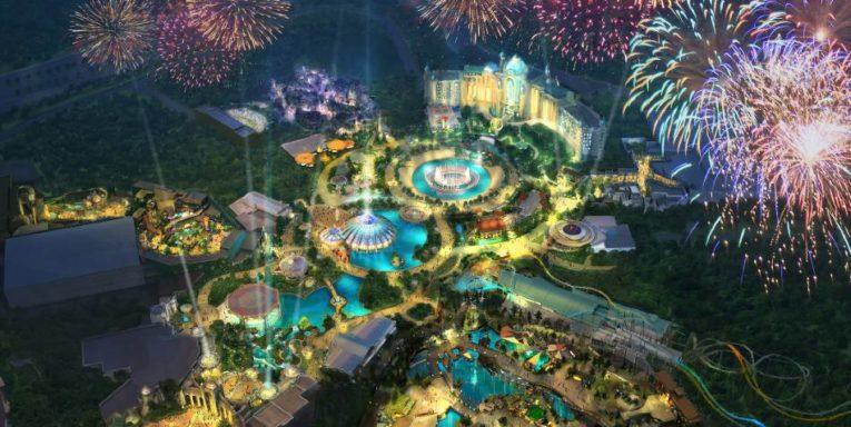 Universal Orlando Resort's Epic Universe concept art