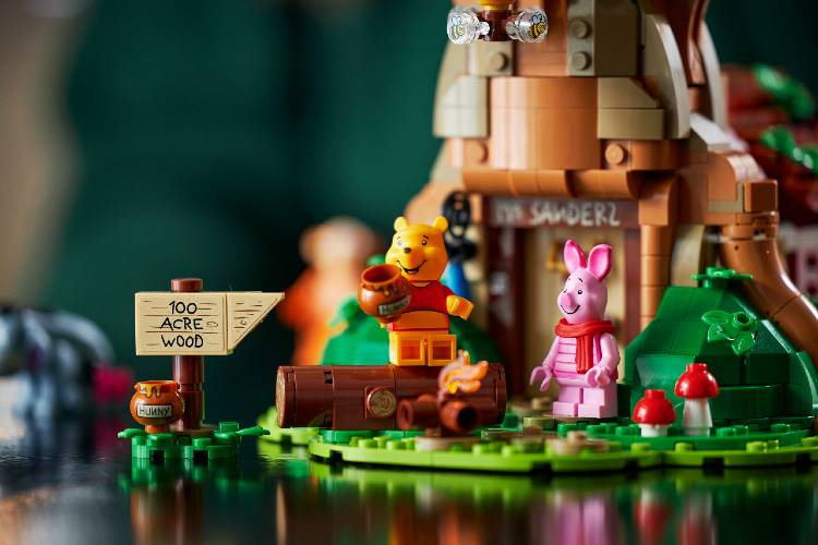 Winnie the Pooh Lego set with characters