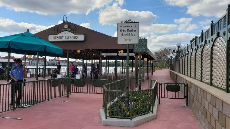 Magic Kingdom walkway entrance