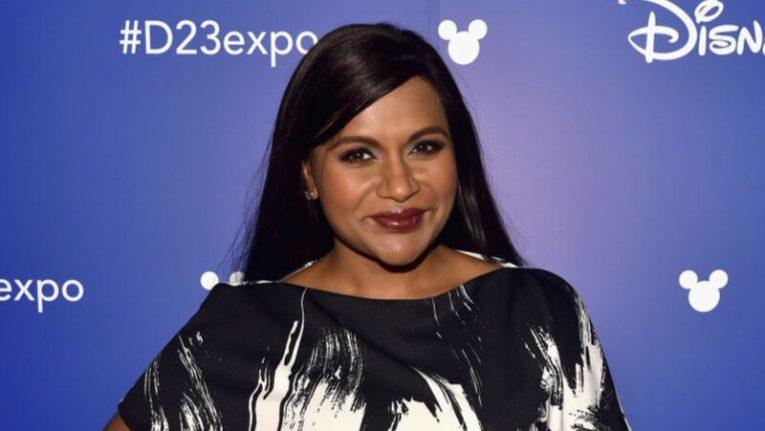 Mindy Kaling at 2017 D23 Expo.