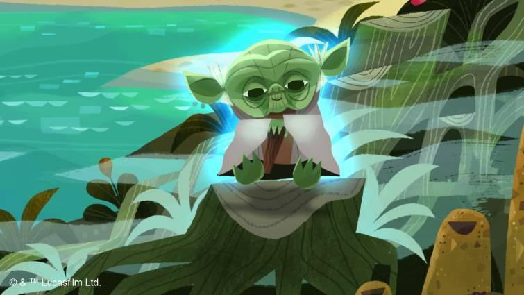 Stylized Yoda