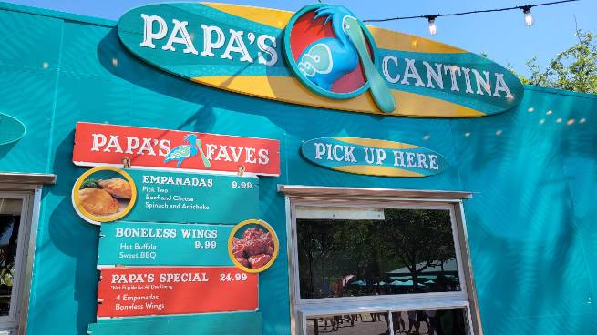 Papa's Cantina