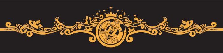 Captain Minnie filigree art for Disney Wish bow