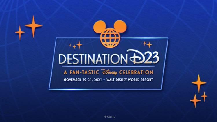 Destination D23 2021 at Walt Disney World - logo
