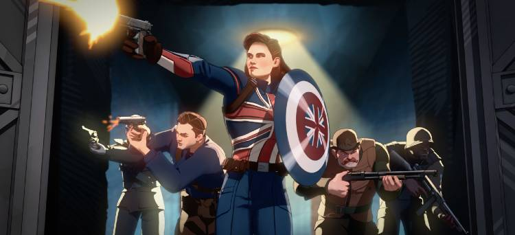 Marvel's What If...? feat Peggy Carter as Captain America