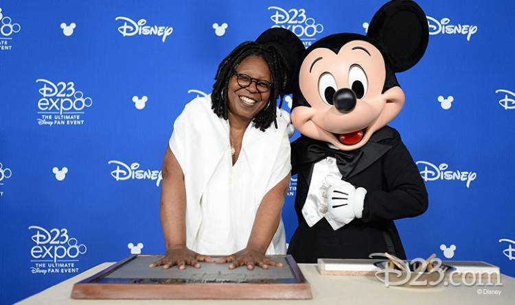 Disney Legend Whoopi Goldberg - Mickey Mouse - D23