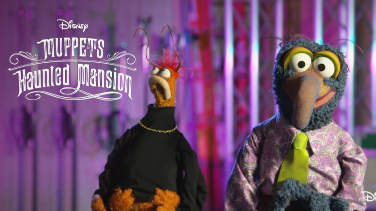Disney+ Releases First Images from 'Muppets Haunted Mansion' Halloween Special