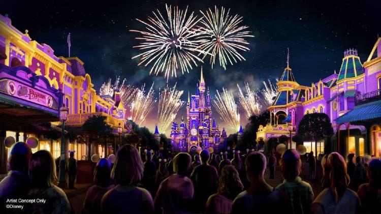 Disney Enchantment at Magic Kingdom - artist rendering