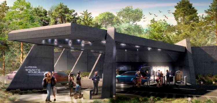 Star Wars: Galactic Starcruiser Resort Terminal at Walt Disney World
