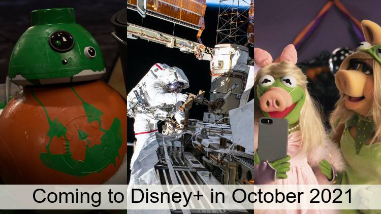 Everything Coming to Disney+ in October 2021