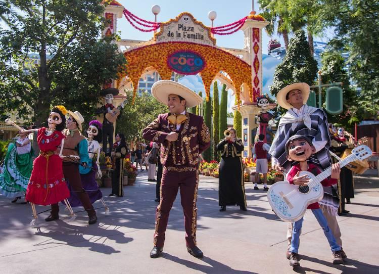 Plaza de la Familia at Disney California Adventure Park