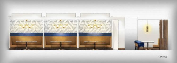 Steakhouse 71 at Disney's Contemporary Resort -  design art rendering
